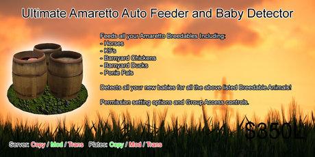 Ultimate Amaretto Auto Feeder + Baby Detector v1.1