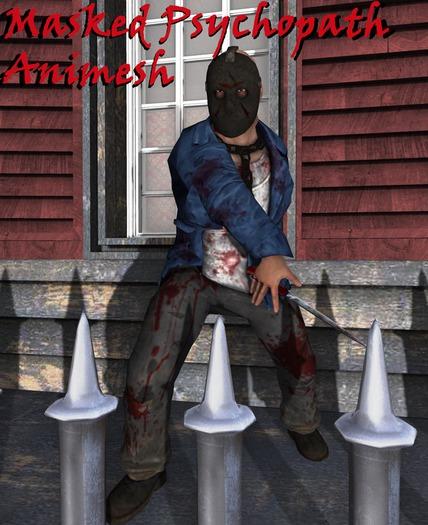masked psychopath boxed