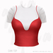 Gaia - Cami Top RED