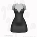 Gaia - Cami Dress BLACK