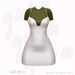 Gaia - Cami Dress CREAM