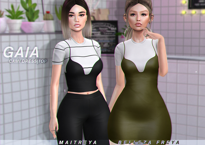 Gaia - Cami Dress FULLPACK
