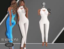 Baboom-sexy Sweetheart-Original Mesh-weiss -body