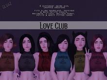 glutz . love club . fatpack