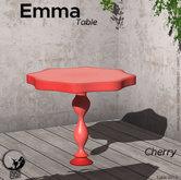 *PC* Emma Table - Cherry