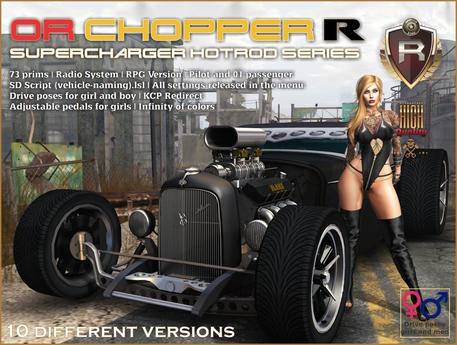 OR CHOPPER R SUPERCHARGER HOTROD SERIES