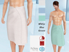 Lovers : Striped Towel : 3 Colors HUD : White, Blue, Green