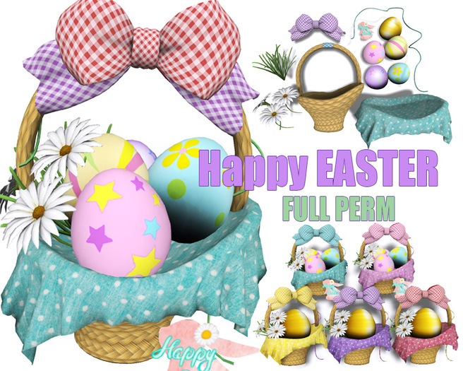[ FULL PERM ] EASTER Basket with Egg