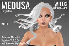 [ WoO ] Medusa Gorgon Hair (WHITE)