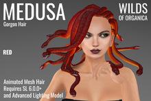 [ WoO ] Medusa Gorgon Hair (RED)