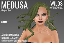 [ WoO ] Medusa Gorgon Hair (GREEN)