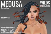 [ WoO ] Medusa Gorgon Hair (BLUE CORAL)