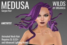 [ WoO ] Medusa Gorgon Hair (AMETHYST)