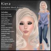 DD Complete Mesh Avatar - Kiera