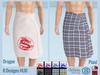 Lovers : Men's Towel : Dragon & Plaid : 8 Colors HUD
