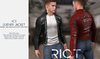 RIOT / Ace Leather jacket - FATPACK | Jake / Gianni / Slink / Adam