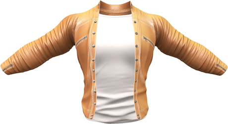 RIOT / Ace Leather jacket - Citrus   Jake / Gianni / Slink / Adam