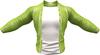 RIOT / Ace Leather jacket - Lime   Jake / Gianni / Slink / Adam