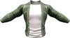 RIOT / Ace Leather jacket - Olive   Jake / Gianni / Slink / Adam