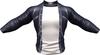 RIOT / Ace Leather jacket - Prussian   Jake / Gianni / Slink / Adam