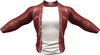 RIOT / Ace Leather jacket - Sizzle   Jake / Gianni / Slink / Adam