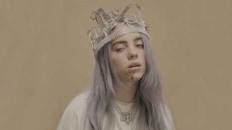 Billie Eilish ~ you should see me in a crown {Full Song + Dance Animation}