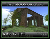 TMG - BACK IN TIME - Landscape Garden, Roman Temple Ruin with dance floor