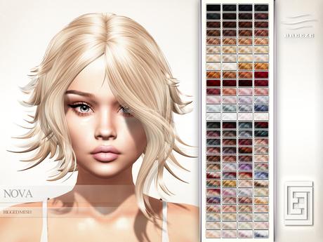 eXxEsS Mesh Hair : Nova