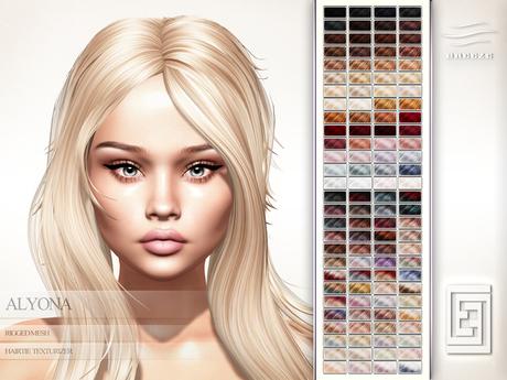 eXxEsS Mesh Hair : Alyona Demo