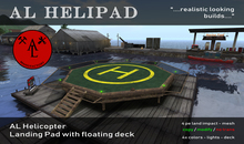 AL Helipad with floating Dock - Summer SALE - 20 %