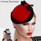 Anastasia Designs Clarissa Fascinator(promo)