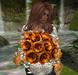 CJ Rose Bouquet Sunny Rose with Hydrangea