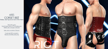 RIOT / Ares Corset - FATPACK | Jake / Gianni / Slink / Adam