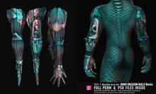 [Y]Full Perm 211 JOMO Male Dragon Machine Bento Arm