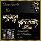 RJ Charm Bracelets - Mom (Boxed) updated