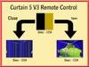 Curtain 5 remote control