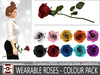 WEARABLE REALISTIC ROSES - COLOUR PACK