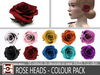 ROSE HEADS - COLOUR PACK
