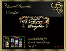 RJ Charm Bracelets - Daughter (Boxed) utd