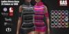 GAS [Ladies Dress Gesa - 25 Colors w/HUD FATPACK]