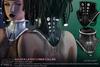 A&Y Aglaya Latex Cyber Collar - Black