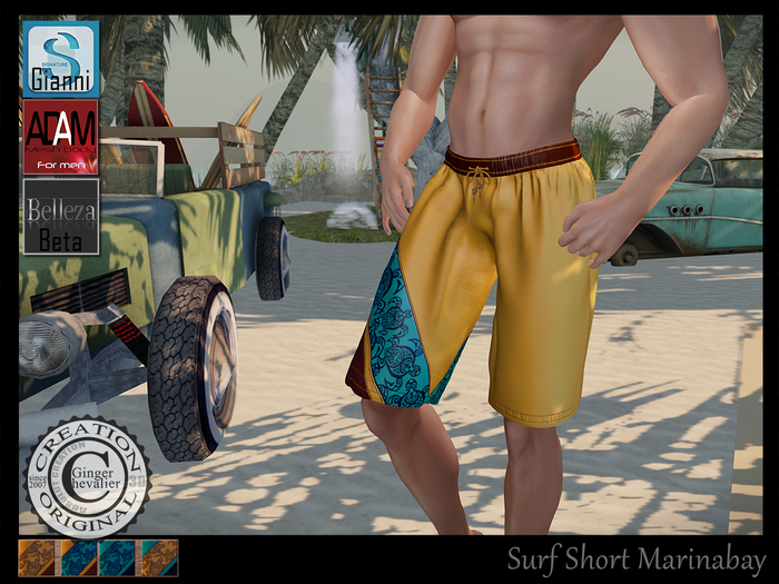 Surf Short MarinaBay