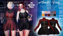 .{PSYCHO:Byts}. Aradia Dress - Black