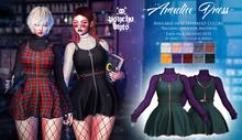.{PSYCHO:Byts}. Aradia Dress - Seagreen