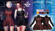 .{PSYCHO:Byts}. Aradia Dress - TartanRed