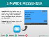 HypeTech - SimWide Messenger HUD