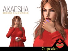 Bento Animated Cupcake - Includes a variety of licking animations