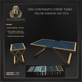 [Ds] Contempo Coffee Table - PG