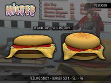 HILTED - Feeling Saucy - Burger Sofa - PG