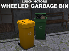 Lusch Motors - Wheeled Garbage Bin